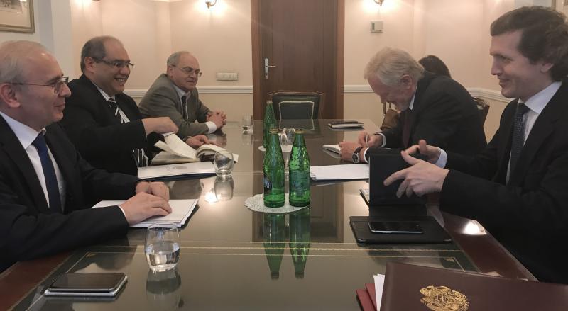 Մոսկվայում կայացել են ՀՀ և ՌԴ ֆինանսների նախարարությունների միջգերատեսչական հանդիպումներ