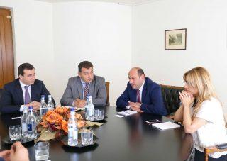Սուրեն Կարայանն ընդունել է Եվրասիական զարգացման բանկի վարչության նախագահին