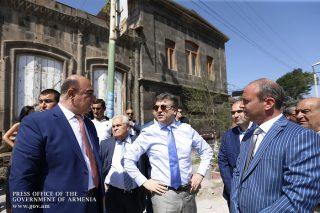 Կարեն Կարապետյանն աշխատանքային այցով եղել է Գյումրիում
