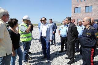 ՊԵԿ. սահմանային «Բավրա» անցակետի շինարարությունն ավարտական փուլում է
