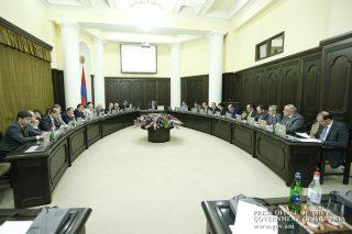Կառավարության նիստում զեկուցվել է հրդեհաշիջման աշխատանքների մասին