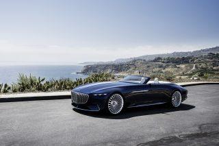 ԱՄՆ-ում ներկայացվել է Vision Mercedes-Maybach 6 Cabriolet շքեղ կոնցեպտը