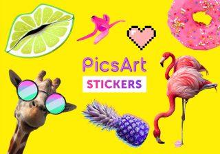 PicsArt. 2 մլն սթիքեր՝ iMessage հավելվածի համար