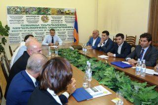 Իտալական և հոլանդական ընկերությունները կօժանդակեն Հայաստանի գյուղատնտեսությունում նորագույն տեխնոլոգիաների ներդրմանը
