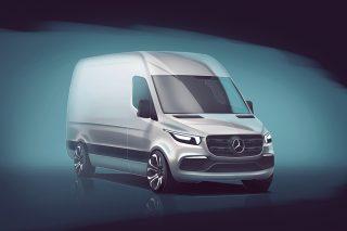 Mercedes-Benz-ը գաղտնազերծել է ապագա Sprinter-ի արտաքին տեսքը