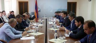 Սուրեն Կարայանը և Գլեբ Նիկիտինը քննարկել են ՀՀ և ՌԴ արդյունաբերության ոլորտում համագործակցության հեռանկարները