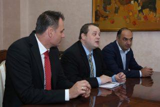 Իգնատի Առաքելյանն ընդունել է «CLAAS» Global Sales ընկերության տարածաշրջանային գլխավոր մենեջերին