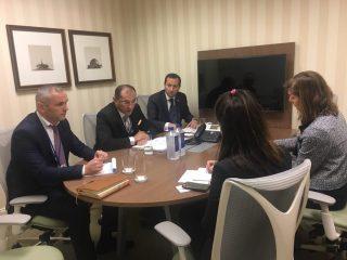 Վարդան Արամյանի գլխավորությամբ Ֆինանսների նախարարության պատվիրակությունը մի շարք հանդիպումներ է ունեցել Վաշինգտոնում