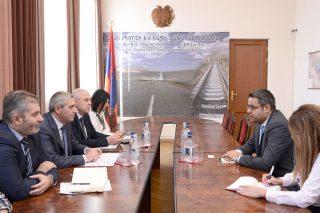 Վահան Մարտիրոսյանն ընդունեց Հայաստանում Սիրիայի արտակարգ և լիազոր դեսպանին