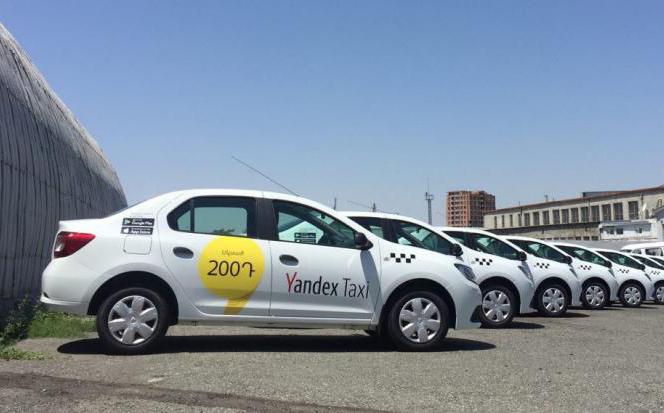 Yandex.Тaxi. նոր սակագներ Երևանում