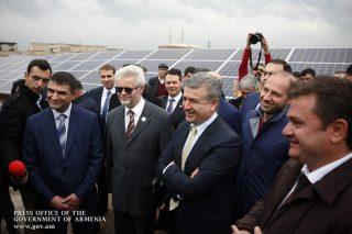 Կարեն Կարապետյանի մասնակցությամբ բացվել է «Թալին-1» արևային կայանը