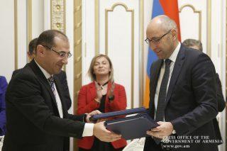 Կառավարության և Վերականգնման վարկերի բանկի միջև համագործակցության համաձայնագրեր են ստորագրվել