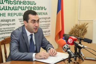 2017թ. ընթացքում Հայաստանից արտահանվել է 119,200 տոննա պտուղբանջարեղեն
