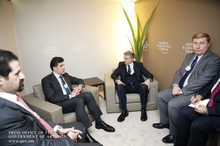 Կարեն Կարապետյանը հանդիպում է ունեցել Իրաքյան Քուրդիստանի վարչապետ Նեչիրվան Բարզանիի հետ