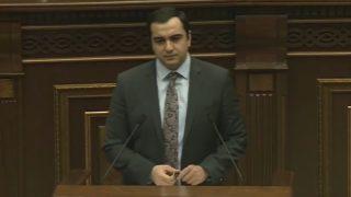 Հայկ Հարությունյանն Ազգային ժողովում ներկայացրել է էլեկտրաէներգետիկական շուկայի ազատականացմանն ուղղված օրենքների նախագծերի փաթեթը