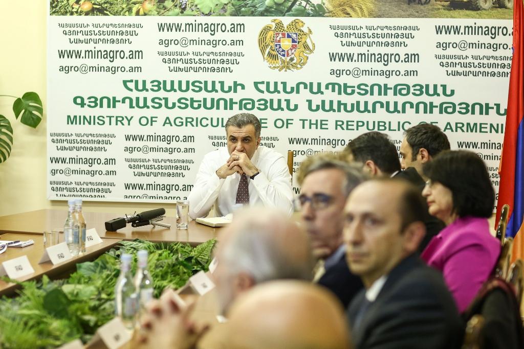 ՀՀ գյուղատնտեսության նախարարությունում ներկայացվել է 2018-2023 թվականների Երկրի ռազմավարական հնարավորությունների ծրագիրը