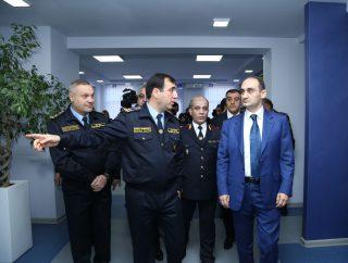 Արարատյան մաքսատուն-վարչությունում Վարդան Հարությունյանին են ներկայացվել սպասարկման նոր սրահի գործառույթները