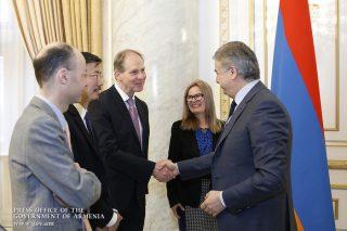 Կարեն Կարապետյանն ընդունել է ՀԲ երևանյան գրասենյակի ղեկավար Սիլվի Բոսութրոյի գլխավորած պատվիրակությանը