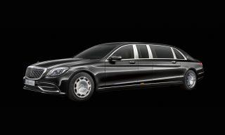Ներկայացվել է Mercedes-Maybach Pullman-ի թարմացված տարբերակը