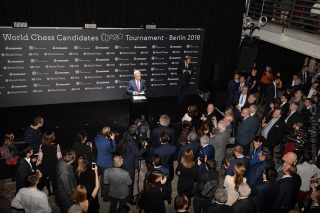 Սերժ Սարգսյանը Բեռլինում ներկա է գտնվել շախմատի աշխարհի չեմպիոնի կոչման հավակնորդների մրցաշարի բացմանը