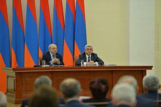 Նախագահ Սերժ Սարգսյանը հանդիպում է ունեցել Հանրային խորհրդի ներկայացուցիչների հետ