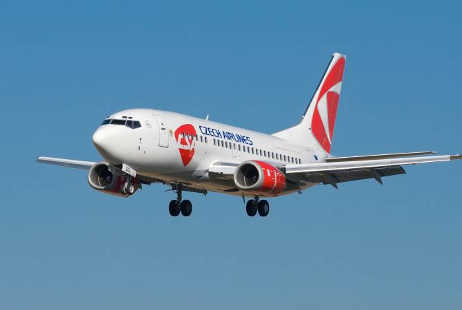 Czech Airlines-ը սկսում է Պրահա-Երևան-Պրահա կանոնավոր չվերթները