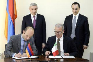Ստորագրված համաձայնագրով՝ իտալական ընկերությունը ուսումնասիրություն կիրականացնի Սիսիան-Քաջարան ճանապարհահատվածում