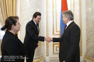 Կարեն Կարապետյանն ընդունել է Մայքրոսոֆթի ԱՊՀ տարածաշրջանի ներկայացուցչության ղեկավարին