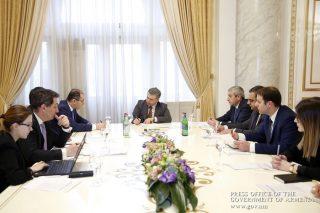 Կարեն Կարապետյանին են ներկայացվել «Պետություն-մասնավոր գործընկերության մասին» ՀՀ օրենքի նախագծի մշակմանն ուղղված աշխատանքները