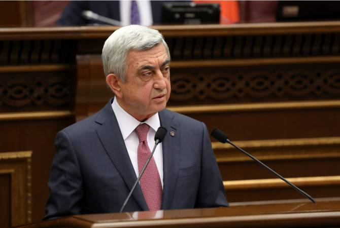 Ազգային Ժողով. Սերժ Սարգսյանն ընտրվեց ՀՀ վարչապետ