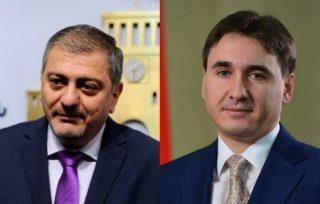 Արմեն Գևորգյանն ու Վաչե Գաբրիելյանը նշանակվել են ՀՀ փոխվարչապետեր