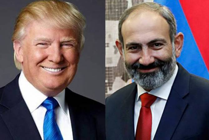 Դոնալդ Թրամփը շնորհավորել է Նիկոլ Փաշինյանին