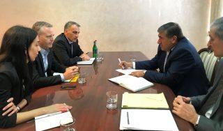 ՀՀ գյուղատնտեսության նախարարն ընդունել է ԱԶԲ-ի ներկայացուցչին