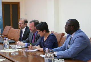 Պատրաստ եմ Առևտրի և ներդրումների շրջանակային համաձայնագրի ներքո աշխատել Ձեզ հետ․ ԱՄՆ դեսպանը՝ Արծվիկ Մինասյանին