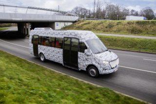 Mercedes Benz-ը պատրաստվում է նոր միկրոավտոբուսների թողարկմանը
