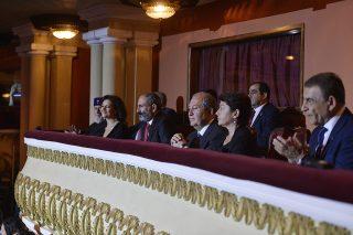 «Ավրորա՝ ի պատիվ 2018թ. դափնեկրի» միջոցառմանը ներկա էր նախագահ Արմեն Սարգսյանը