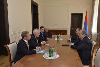 Արմեն Սարգսյանն ընդունել է Երևան ժամանած ԵԱՀԿ Մինսկի խմբի համանախագահներին