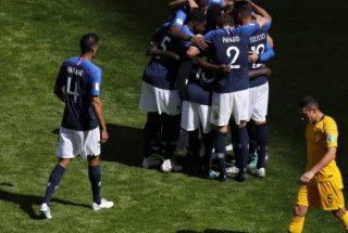Ֆուտբոլի Աշխարհի Առաջնություն. Ֆրանսիան հաղթեց Ավստրալիային՝ 2։1