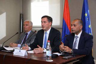 Դեյվիդ Մքալիսթեր․ ԵՄ-ը պատրաստ է Հայաստանի հետ առանց մուտքի արտոնագրերի ռեժիմի հաստատման շուրջ երկխոսություն սկսել