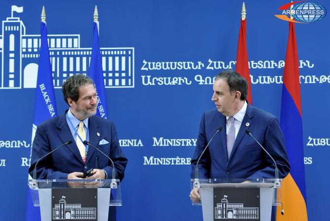 Հայաստանը շարունակելու է իր գործունեությունը Սևծովյան տնտեսական համագործակցության կազմակերպության աշխատանքներում