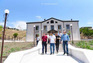 Պետնախարար Մարտիրոսյանն այցելել է Մարտակերտ, Մատաղիս և Թալիշ համայնքներ