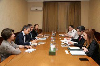 ՊԵԿ. քննարկվել են Մեղրիի սահմանային անցակետի արդիականացման հարցեր