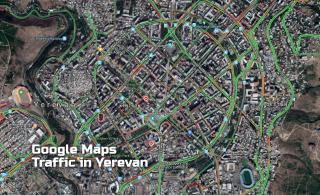 Google maps-ը հայ վարորդների համար ուրախալի նորություն ունի