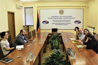 Բնապահպանության նախարարը ընդունել է Հայաստան ժամանած «Հայնրիխ Բյոլ» հիմնադրամի պատվիրակությանը