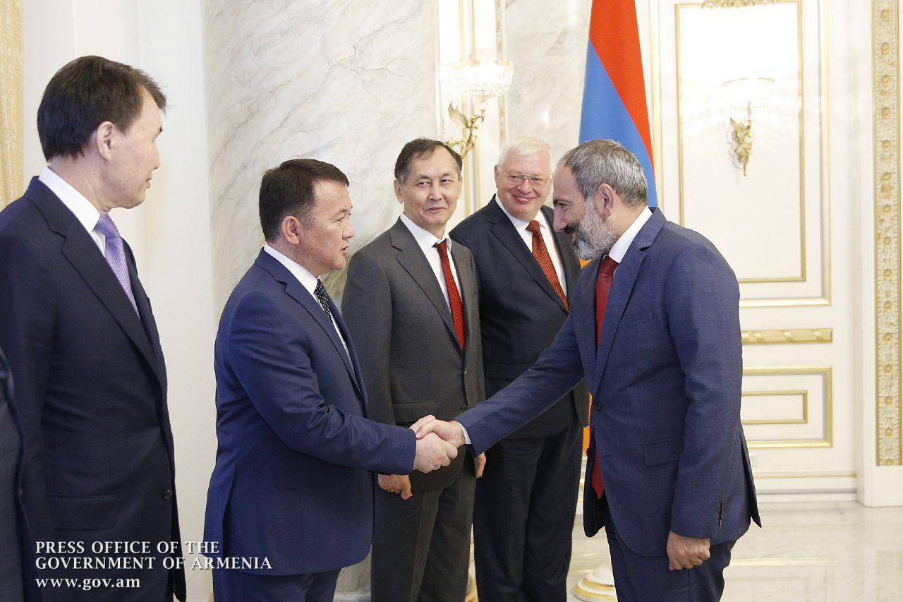 Նիկոլ Փաշինյանն ընդունել է ԱՊՀ կոռուպցիայի հակազդման միջպետական խորհրդի նիստի մասնակիցներին