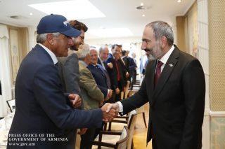 Նիկոլ Փաշինյանը հանդիպել է Բելգիայի հայազգի գործարարների հետ