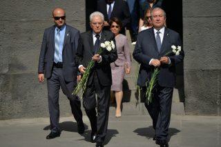 Հայաստանի և Իտալիայի նախագահները այցելել են Ծիծեռնակաբերդ