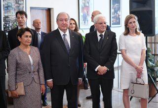 Ազգային պատկերասրահում բացվել է Մշակութային ժառանգության պահպանման հայ-իտալական կենտրոնը