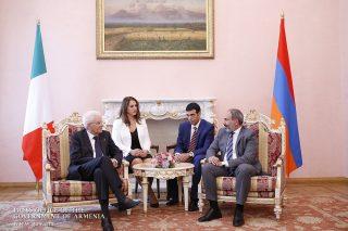 Մենք անհրաժեշտ ենք համարում Իտալիայի և Հայաստանի գործընկերության էլ ավելի զարգացումը․ Վարչապետն ընդունել է Իտալիայի նախագահին