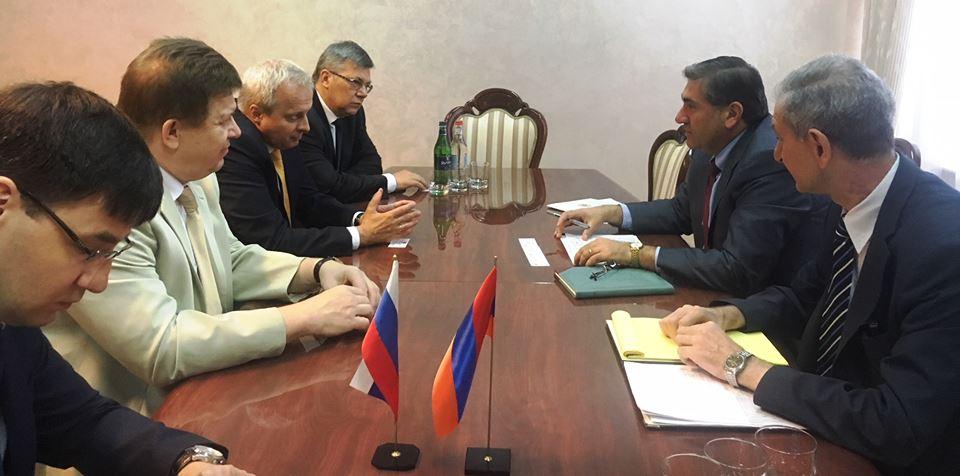 Ռուսաստանի դեսպան Սերգեյ Կոպիրկինի հետ քննարկվել է երկկողմ համագործակցության ընթացքն ու հեռանկարները